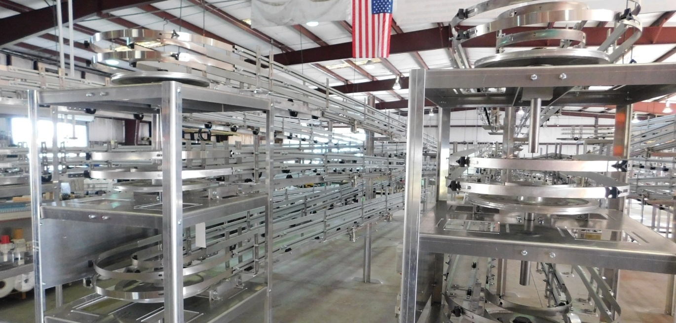 Custom Metal Designs conveyors help you save time and money